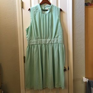 Modcloth Mint Dress by Fervour 4x